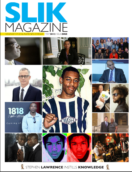 SLIK Magazine: Issue 1 – Stephen Lawrence Instills Knowledge