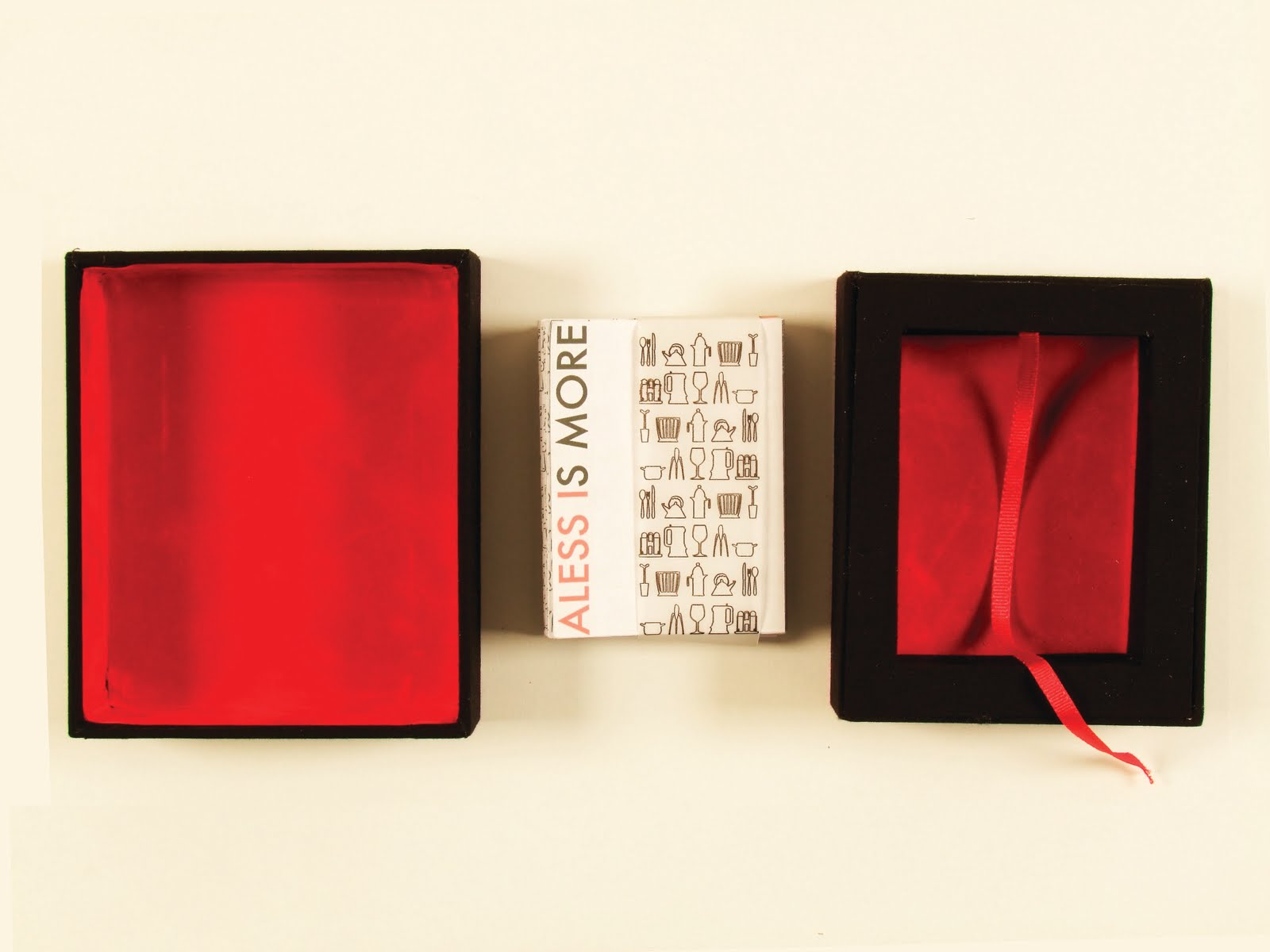 University Project: Alessi – The history of Alessi presented in a hand made box