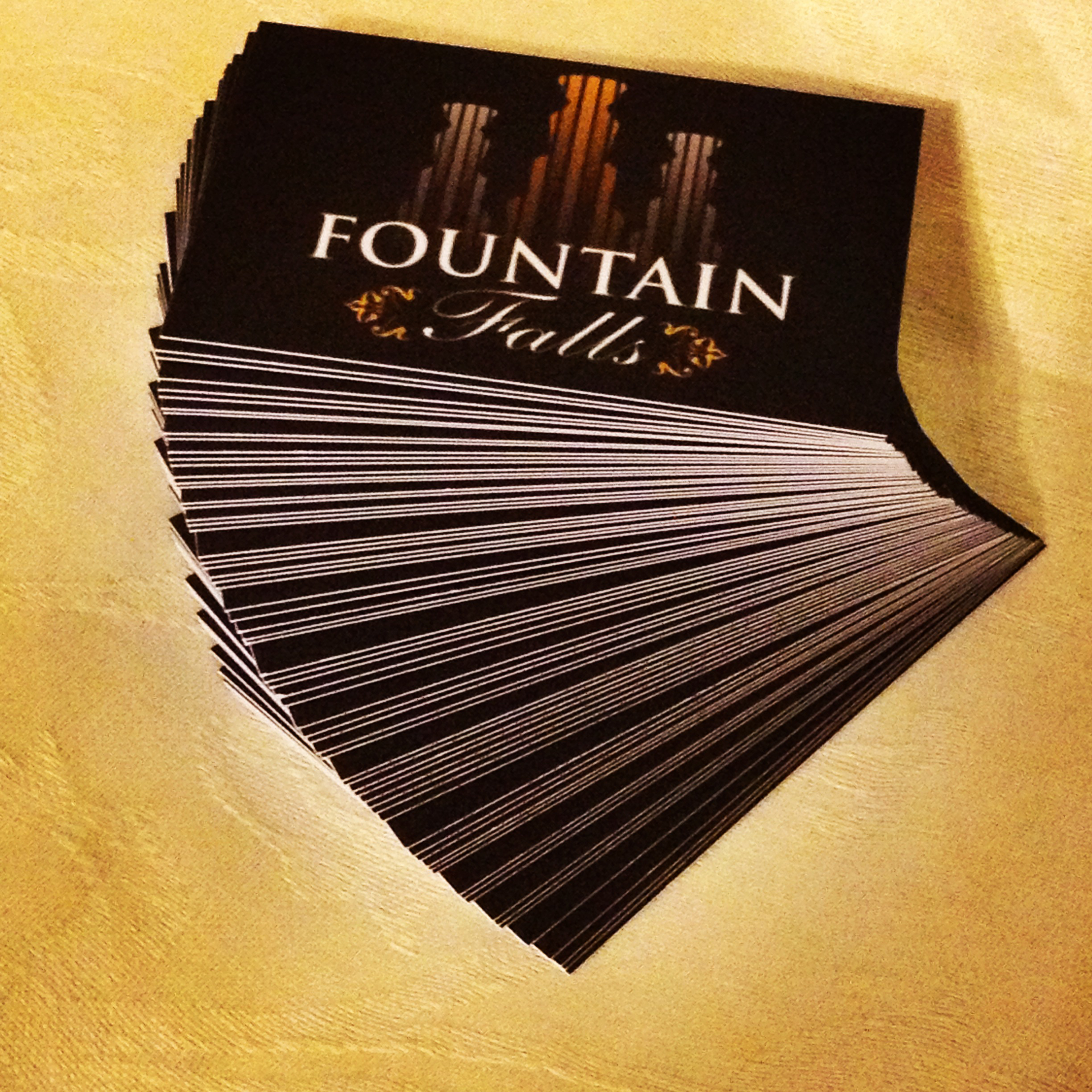 Business Card Design – Fountain Falls