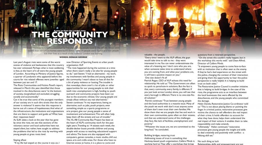 SLIK Magazine: Issue 2 – Stephen Lawrence Instills Knowledge
