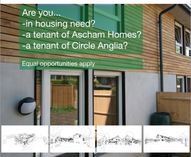 Self Build Project – Promoting self build project for local tenants