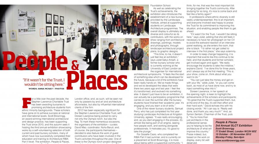 SLIK Magazine: Issue 3 – Stephen Lawrence Instills Knowledge
